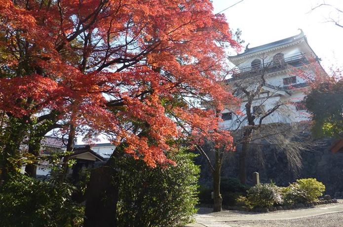 秋の白石城の画像