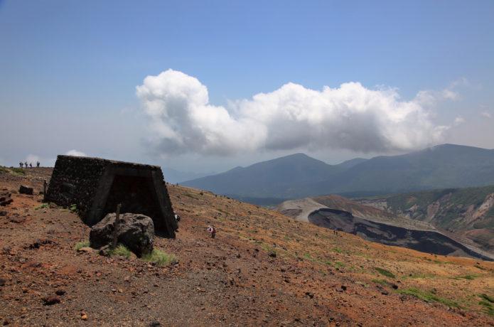 蔵王の熊野岳の避難小屋の画像