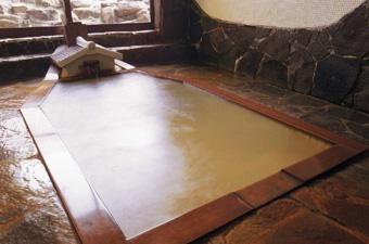 最上屋旅館の展望風呂の画像