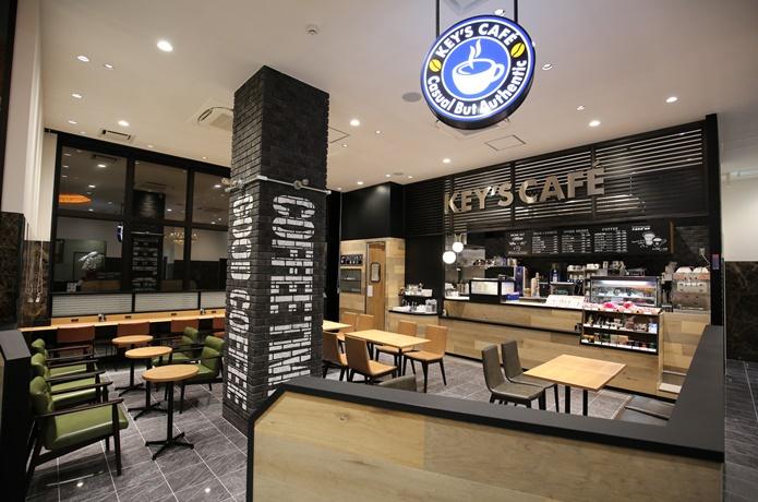 キーズコーヒー店内の画像