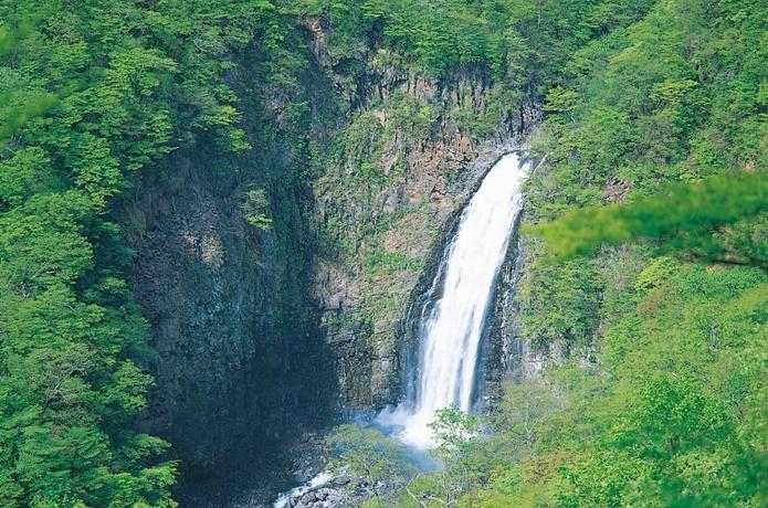 蔵王エコーラインの滝見台の画像