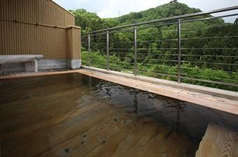 みちのく庵の露天風呂の画像