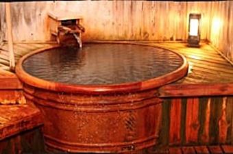 湯守木村屋の露天風呂の画像