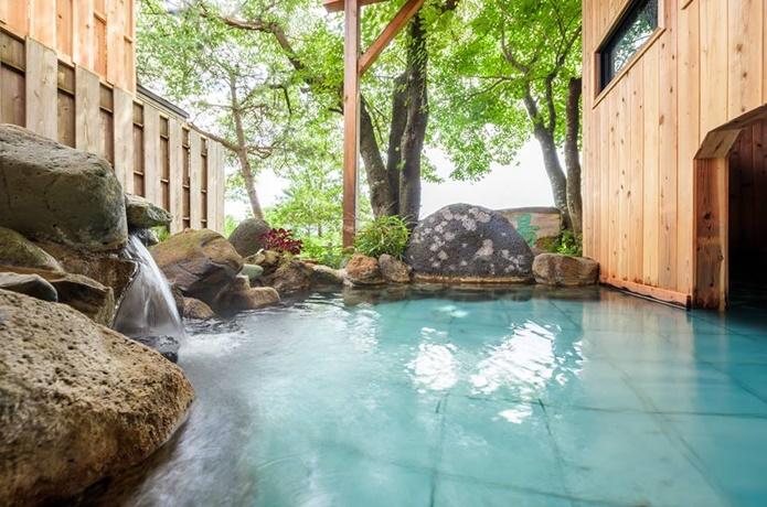 流辿の温泉の画像