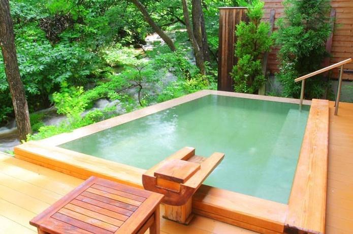 ゆと森倶楽部の温泉の画像