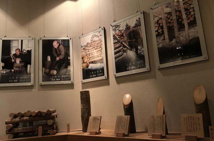 みやぎ蔵王こけし館の展示物の画像