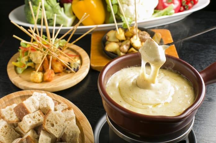 チーズ料理の画像