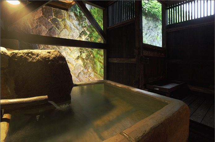 不忘閣の温泉の画像
