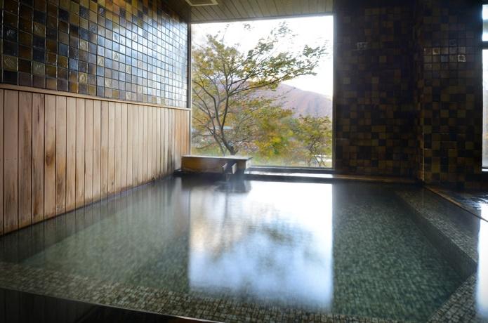 岡崎旅館の温泉の画像
