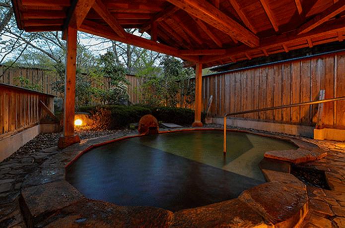 別邸山風木の温泉の画像