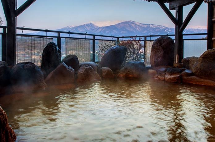 かっぱの宿旅館三治郎の温泉の画像