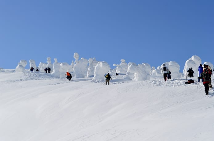 樹氷ツアー