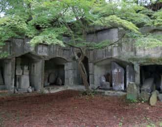 雄島 岩窟群