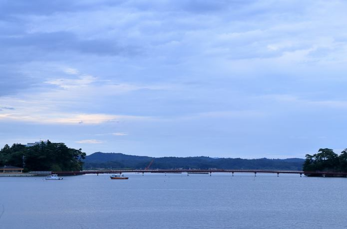 松島湾と福浦橋