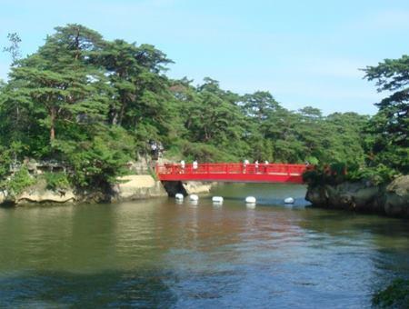 渡月橋と雄島