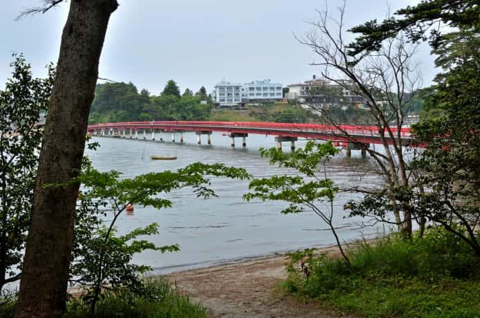 福浦島からみる橋
