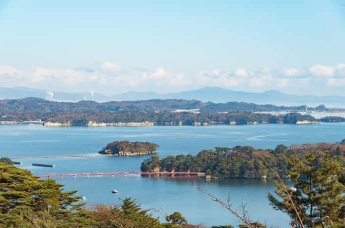 松島湾と雄島
