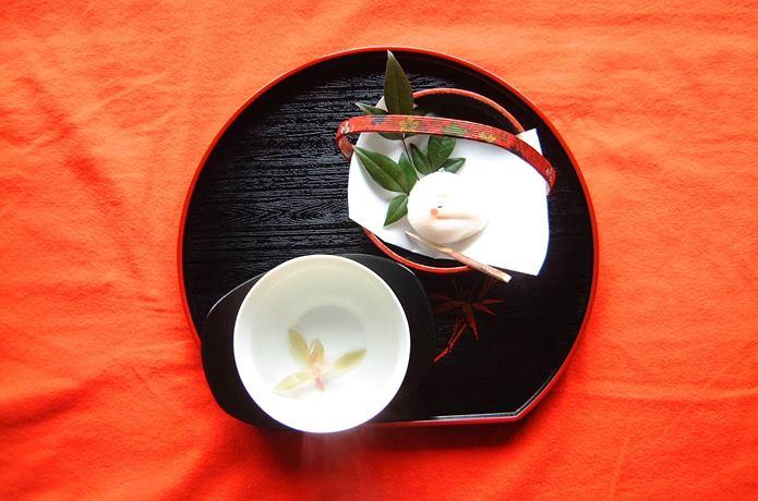 武家屋敷 春蘭茶セット