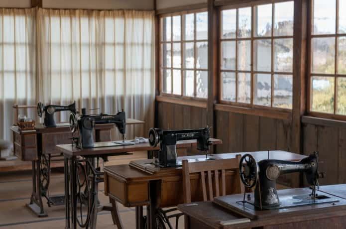 登米小学校 教室内風景