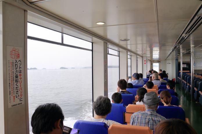 松島 島巡り遊覧船