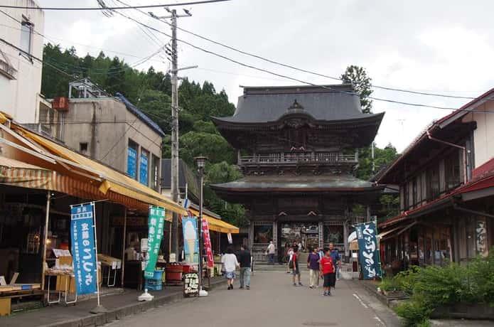 西方寺 商店街