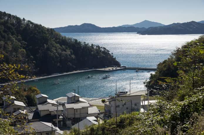女川町と港