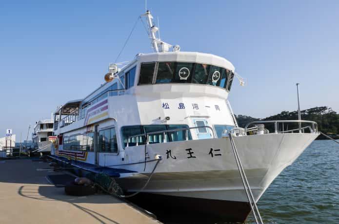 松島 大型観光船