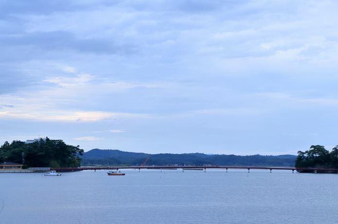 雄島からみる福浦橋