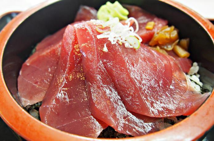 松島魚市場 鉄火丼