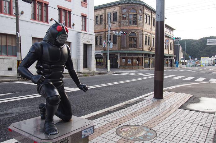 石巻マンガロード 仮面ライダー ブラック