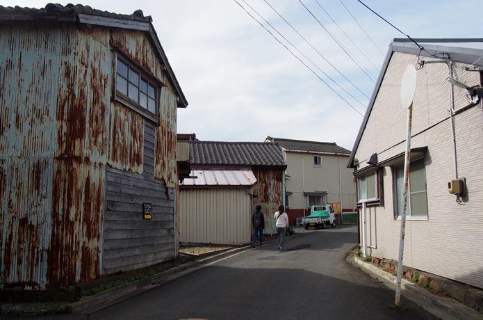 田代島の住宅街