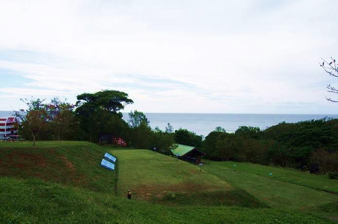 マンガアイランド テントサイト