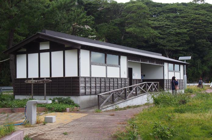 田代島 公園にあるトイレ