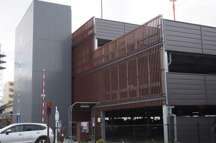 石巻市かわまち立体駐車場