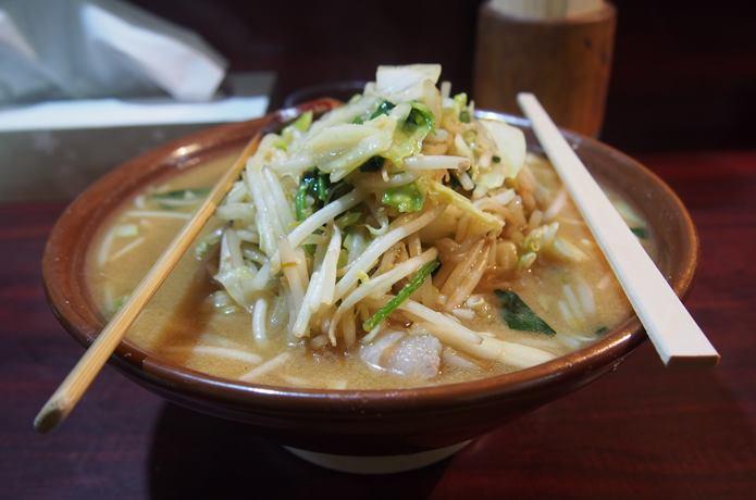 大王 味噌タンメン