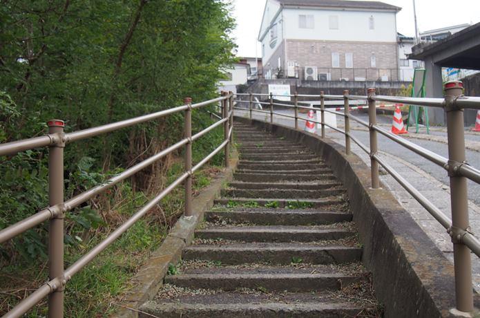 日和山公園の坂道