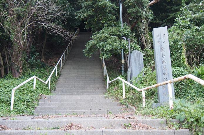 鹿島御児神社 入口