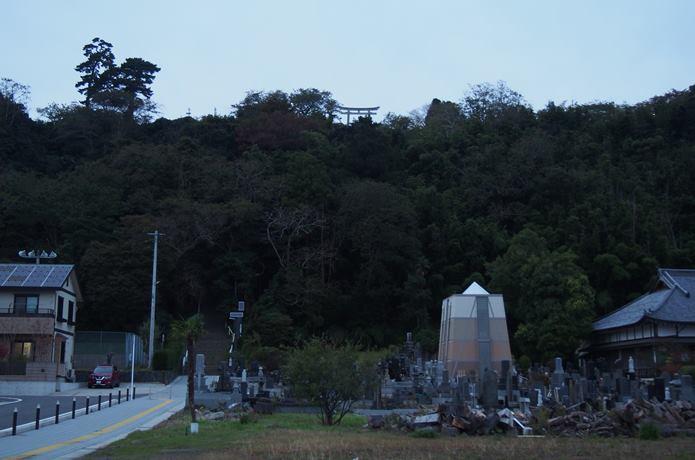 地上から見た日和山