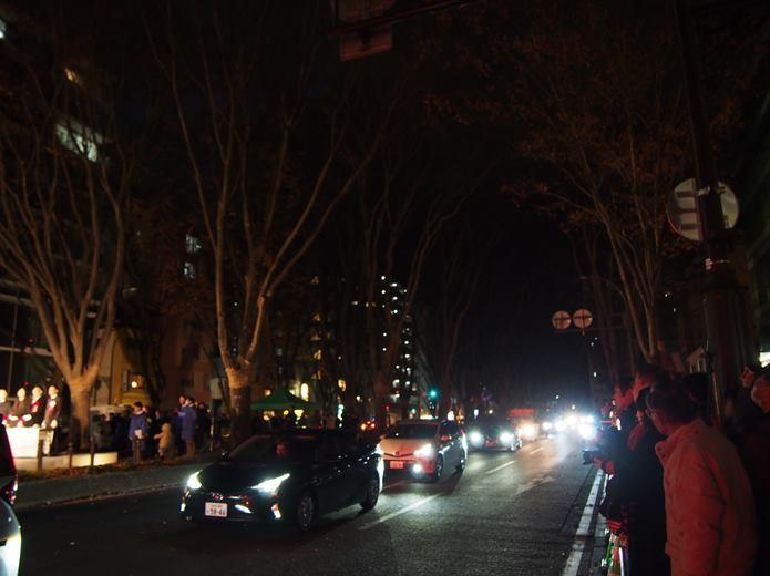 仙台光のページェント 点灯前