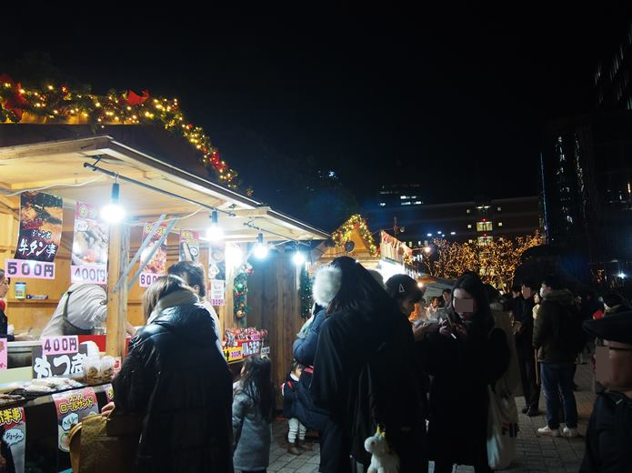 仙台光のページェント クリスマスマーケット