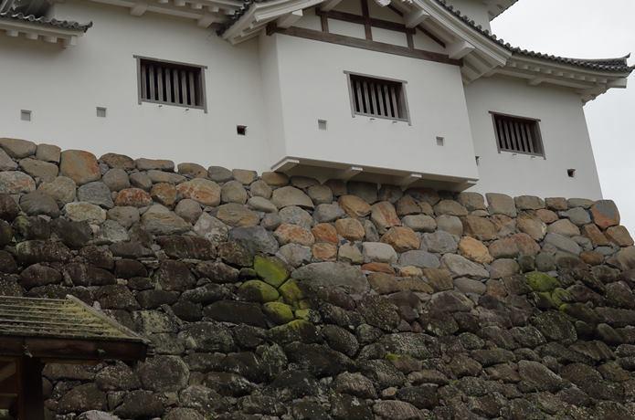 白石城 石垣