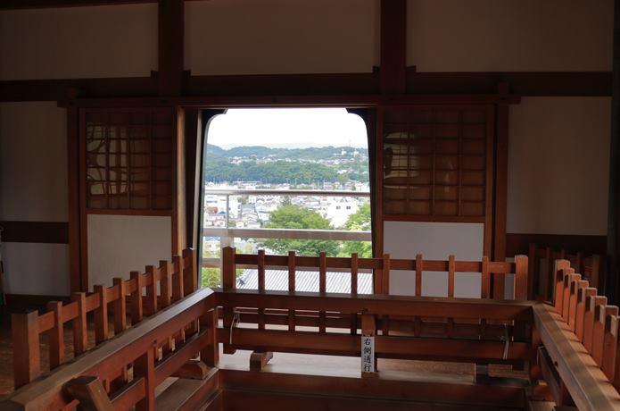 白石城 天守からの眺め