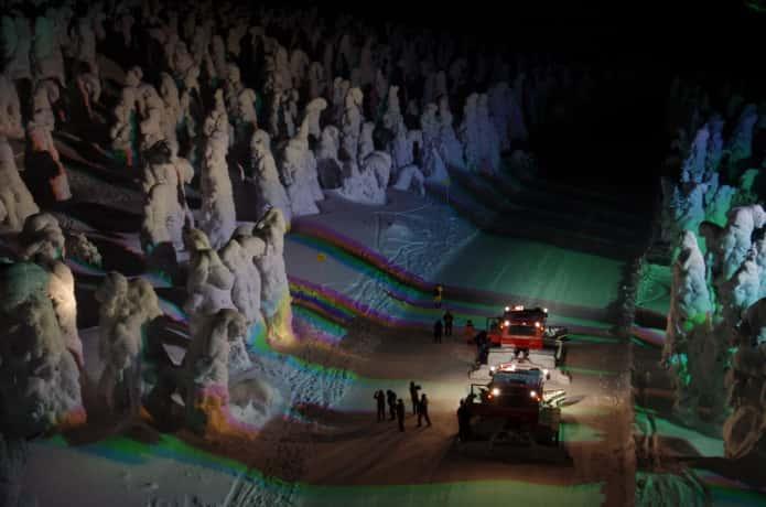 蔵王樹氷 ナイトクルーザー