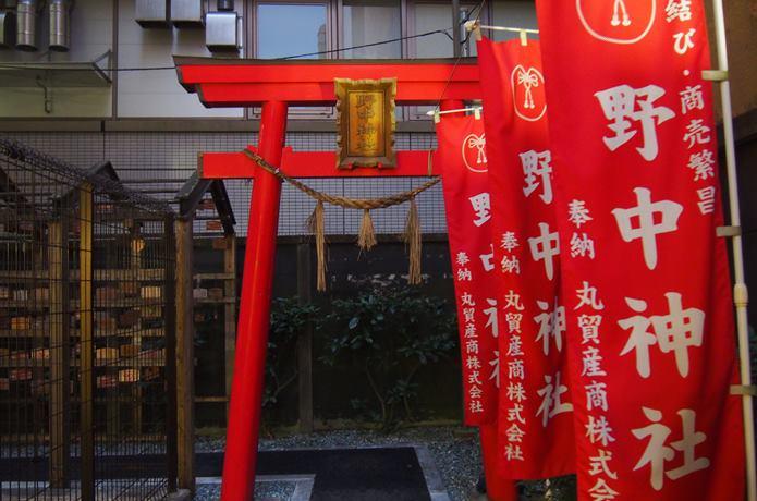 野中神社 鳥居