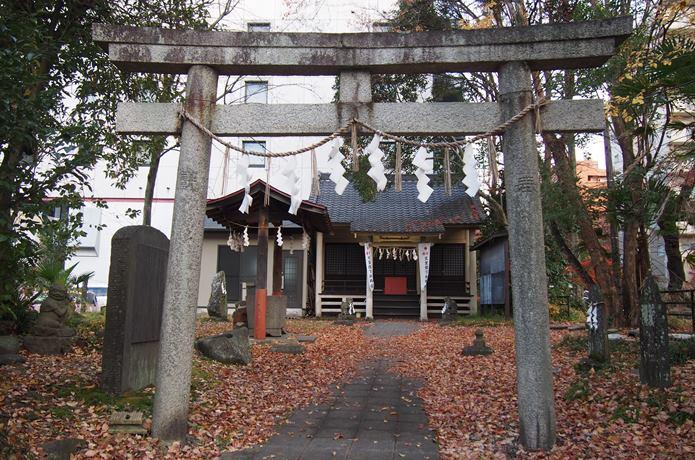 馬上蠣崎神社