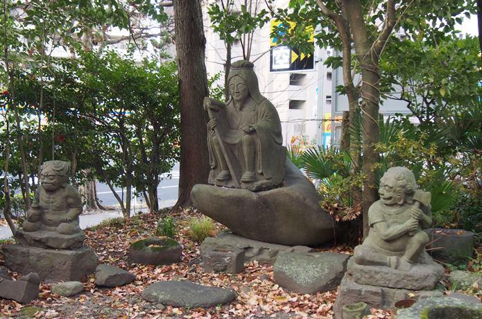 馬上蠣崎神社 仏像