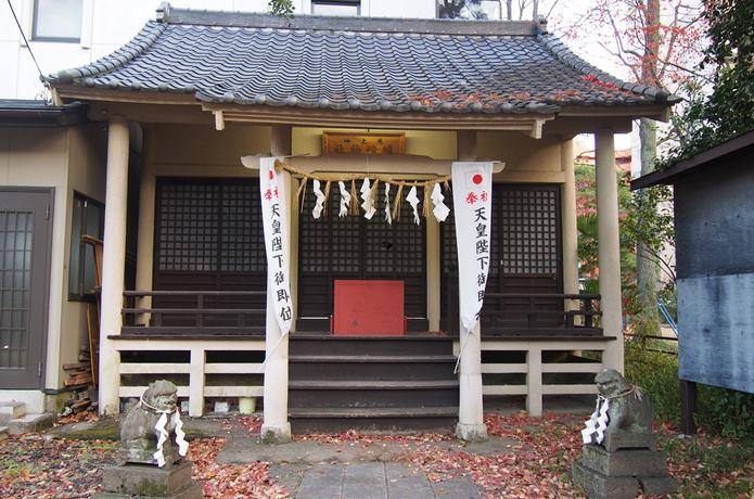 馬上蠣崎神社 社殿