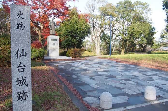 仙台城跡 二の丸
