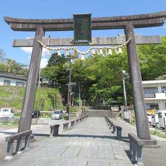 鹽竈神社 東参道