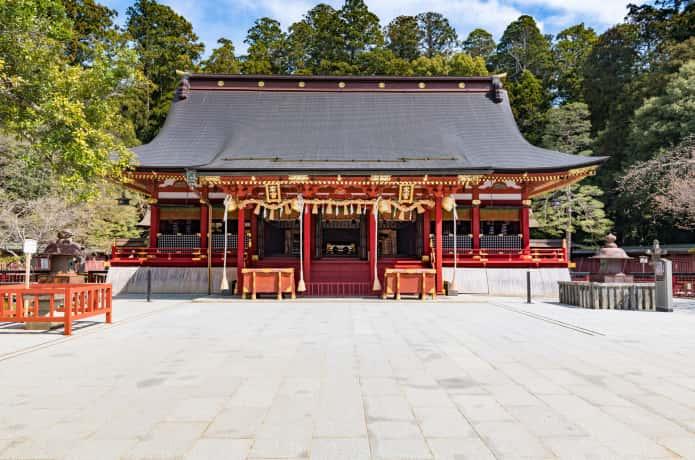 鹽竈神社 左右宮拝殿
